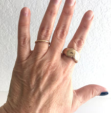 wabi sabi ring - double thick