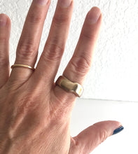 wabi sabi rings - thick