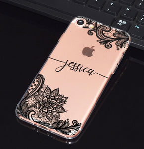Custom Floral iPhone Case-Iphone Case-Intersum-iPhone 5-Clear-Intersum