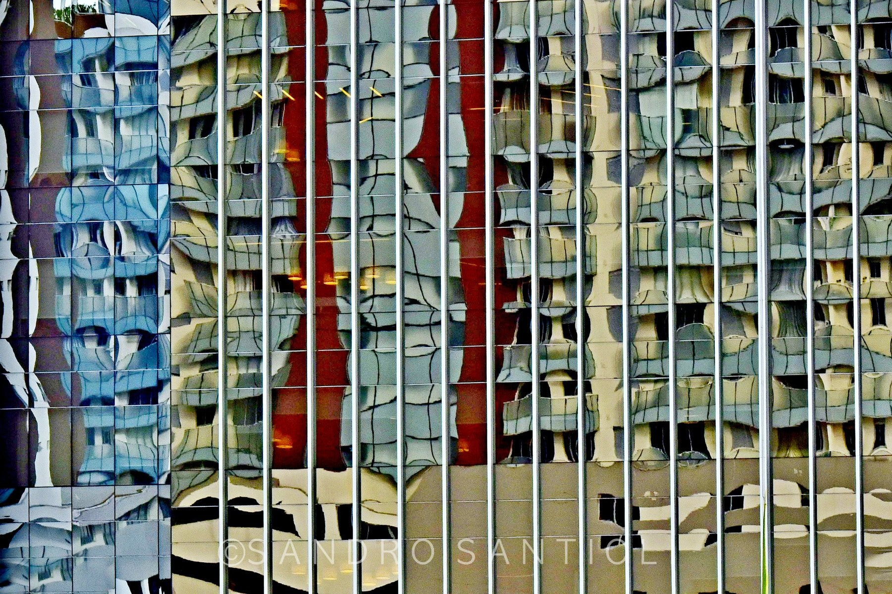 CITYSCAPES REFLEXES HORIZONTAL Wall Pictures
