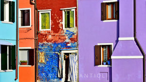 BURANO VENICE Wall Pictures