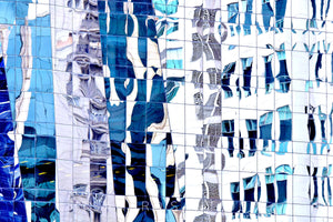 Wall Pictures - CITYSCAPES REFLEXES Horizontal - BRA2956