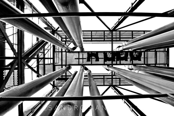 Wall Pictures - ABSTRACT INDUSTRIAL HERITAGE -SIC1810