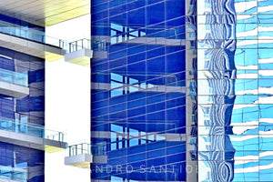 Wall Pictures - CITYSCAPES REFLEXES Horizontal - BRA7077