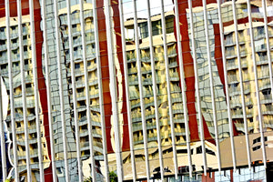 Wall Pictures - CITYSCAPES REFLEXES Horizontal - BRA6325