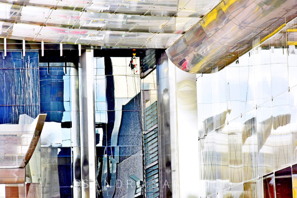 Wall Pictures - CITYSCAPES REFLEXES Horizontal - BRA6341