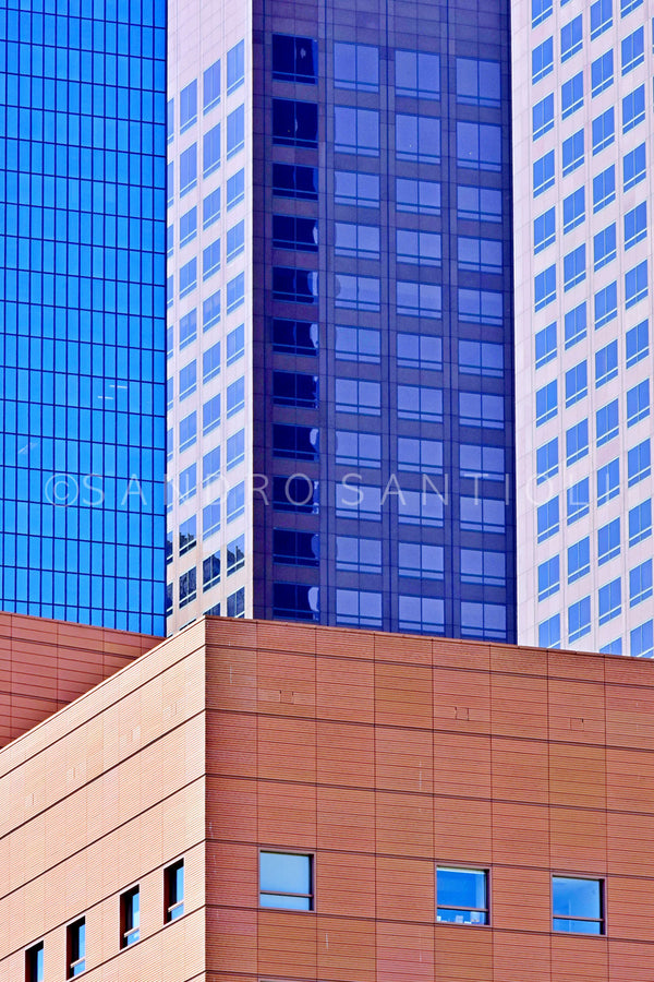 Wall Pictures - CITYSCAPES- LOS ANGELES & SAN DIEGO - CAL1467