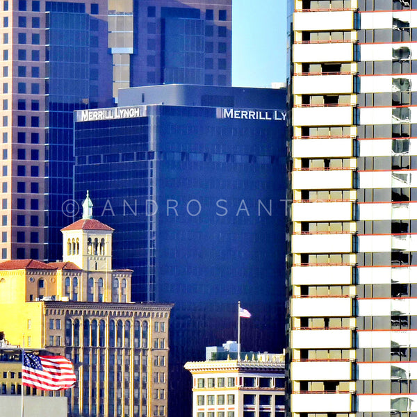 Wall Pictures - CITYSCAPES- LOS ANGELES & SAN DIEGO - CAL1037