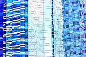 Wall Pictures -  CITYSCAPES REFLEXES Horizontal - BRA7100