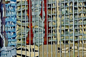 Wall Pictures - CITYSCAPES REFLEXES Horizontal - BRA6319