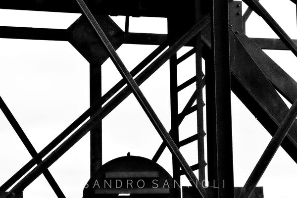 Wall Pictures - ABSTRACT INDUSTRIAL HERITAGE - SAR3609