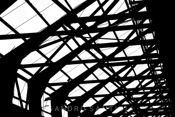 Wall Pictures - ABSTRACT INDUSTRIAL HERITAGE -ARC4882