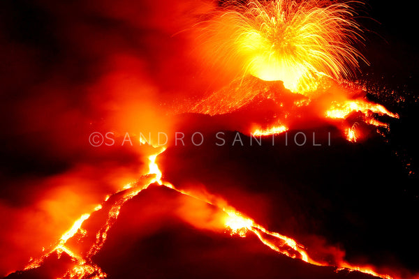 Wall Pictures - VOLCANOES - ETN4233