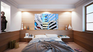 Wall Pictures - CITYSCAPES REFLEXES Horizontal - BRA6249