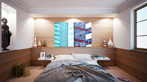 Wall Pictures - CITYSCAPES REFLEXES Horizontal - BRA6937