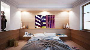 Wall Pictures - CITYSCAPES REFLEXES Horizontal - BRA2306
