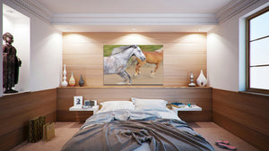 Wall Pictures - HORSES Abstract - ABC0821