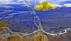 Wall Pictures - ICELAND FROM ABOVE - ISL8927