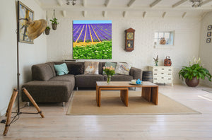 Wall Pictures - PROVENCE Lavender Fields - PRO8658