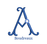 Load image into Gallery viewer, Boudreaux Monogram