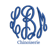 Load image into Gallery viewer, Chinoiserie Monogram
