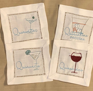Quarantine Cocktail Napkins