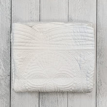 Load image into Gallery viewer, White Baby Quilt
