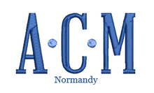 Load image into Gallery viewer, Normandy Monogram
