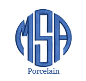 Porcelain Monogram