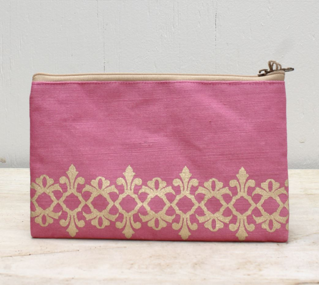Vienna Glamour Cosmetic Bag in Pink