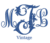 Load image into Gallery viewer, Vintage Monogram