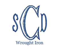 Load image into Gallery viewer, Wrought Iron Monogram