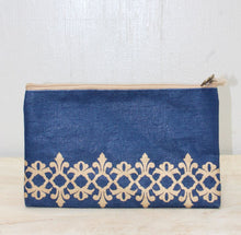 Load image into Gallery viewer, Vienna Glamour Cosmetic Bag in Navy