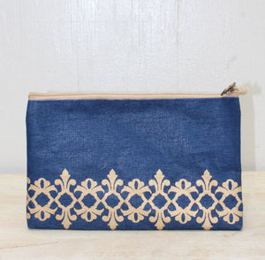 Vienna Glamour Cosmetic Bag in Navy