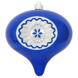 Blue reflector Large Christmas ornament