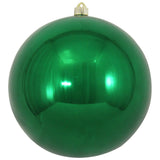 Dark Green Shatterproof Large Christmas Ornaments