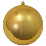 shiny gold round shatterproof large christmas ornaments