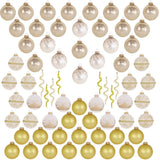 Classic Gold Glass Ornament Decorating Trimkits