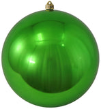 Green Shatterproof Large Christmas Ornaments