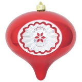 Red reflector Large Christmas ornament