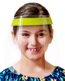 6-Pack Children's Safety Face Shields - Anti-Fog, Anti-Static, Hypoallergenic