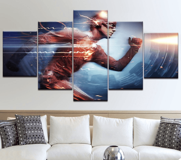 Five Piece Flash Painting