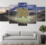 Five Piece Notre Dame Painting