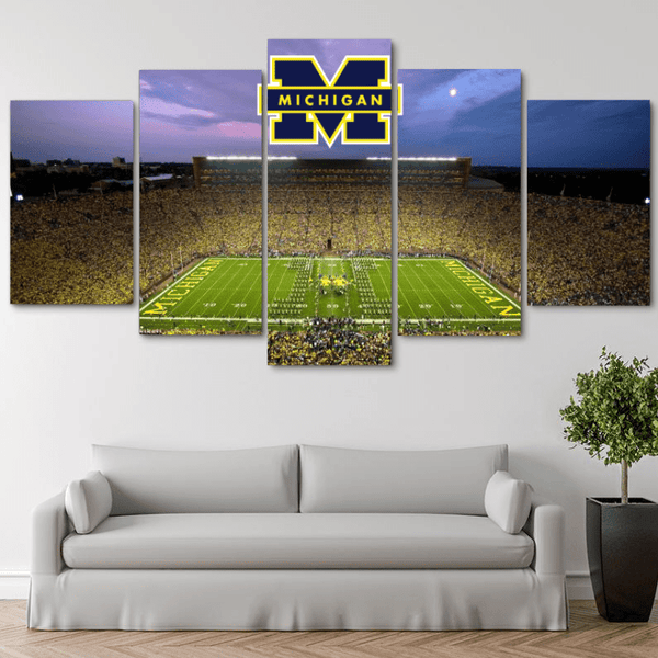 Five Piece Michigan Painting