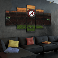 Five Piece Alabama Painting