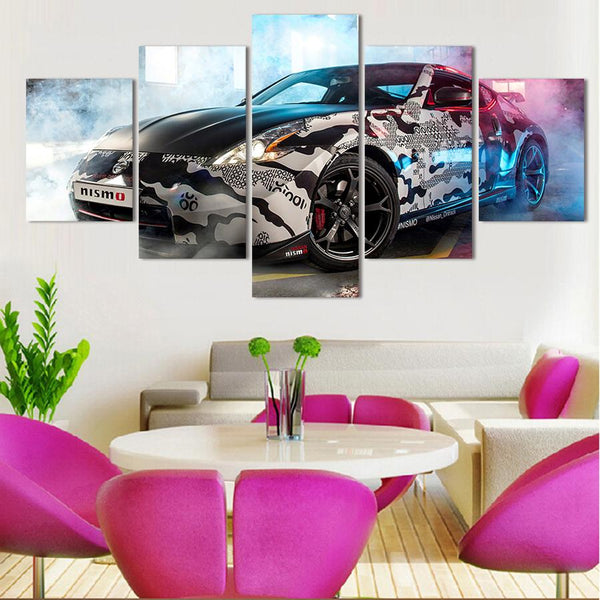 Five Piece Nissan Z Painting