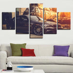 Five Piece BMW Painting