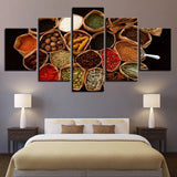Five Piece Spices Painting