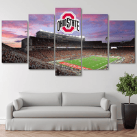 Five Piece Ohio State Buckeyes Painting