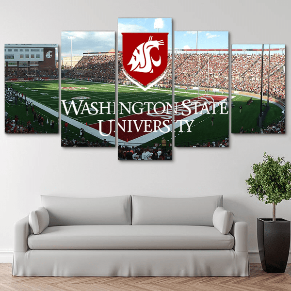 Five Piece Washington State Painting
